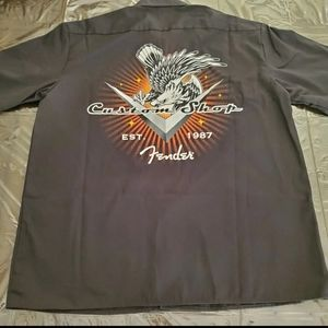 RARE Fender Custom Shop Work Shirt